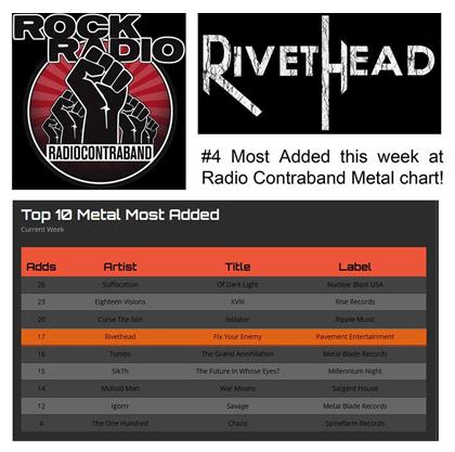 #4 Top Ten Metal Most Added – June 13, 2017
